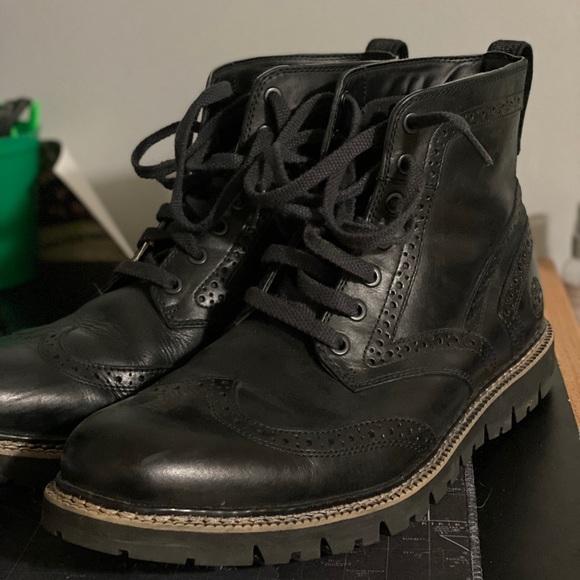 Timberland Shoes | Wingtip Boots | Poshmark